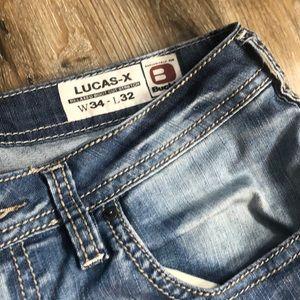 Buffalo David Bitton Jeans - Men's Buckle Buffalo Relaxed BootCut Stretch Jean